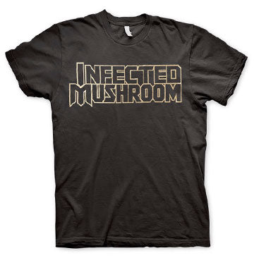 INFECTED MUSHROOM -Logo- Black Tee