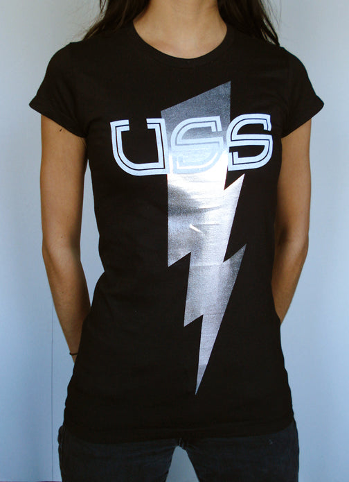 U.S.S. Silver Foil BOLT Shirt Girls