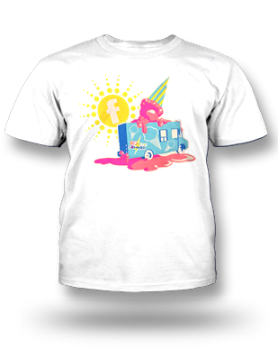 Big Ticket Summer Concert 2014 Truck T-shirt: Youth, White