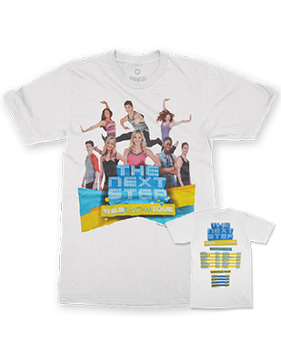 The Next Step 2016 - Wild Rhythm - Official Tour T-Shirt - White