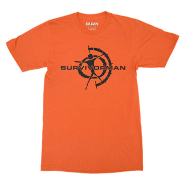 Survivorman Performance Tee - Orange