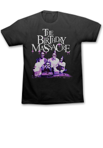 THE BIRTHDAY MASSACRE -Skull Family- T-Shirt - Black