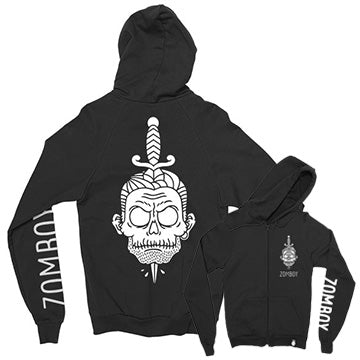Zomboy - Dead Collection - Dagger Black Hoodie