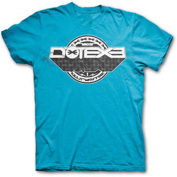 DotEXE -Kill It With Fire- T-Shirt - Turquoise