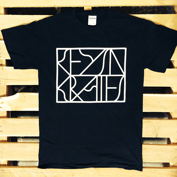 KEYS N KRATES -Boxed In- Logo T-Shirt - Black