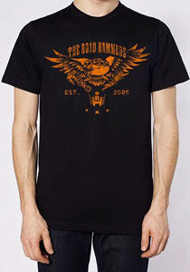 THE ROAD HAMMERS Eagle Guys Black T-Shirt