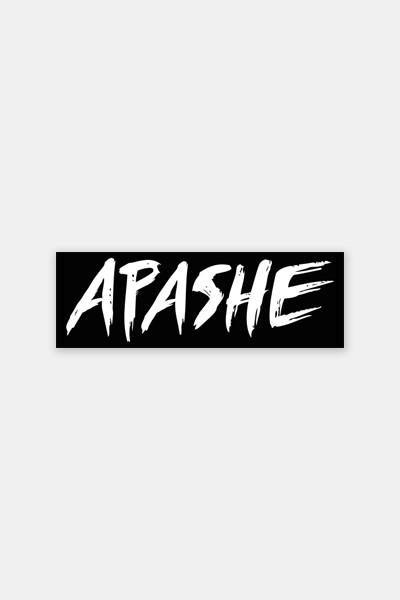 KANNIBALEN RECORDS -  APASHE - Sticker Pack