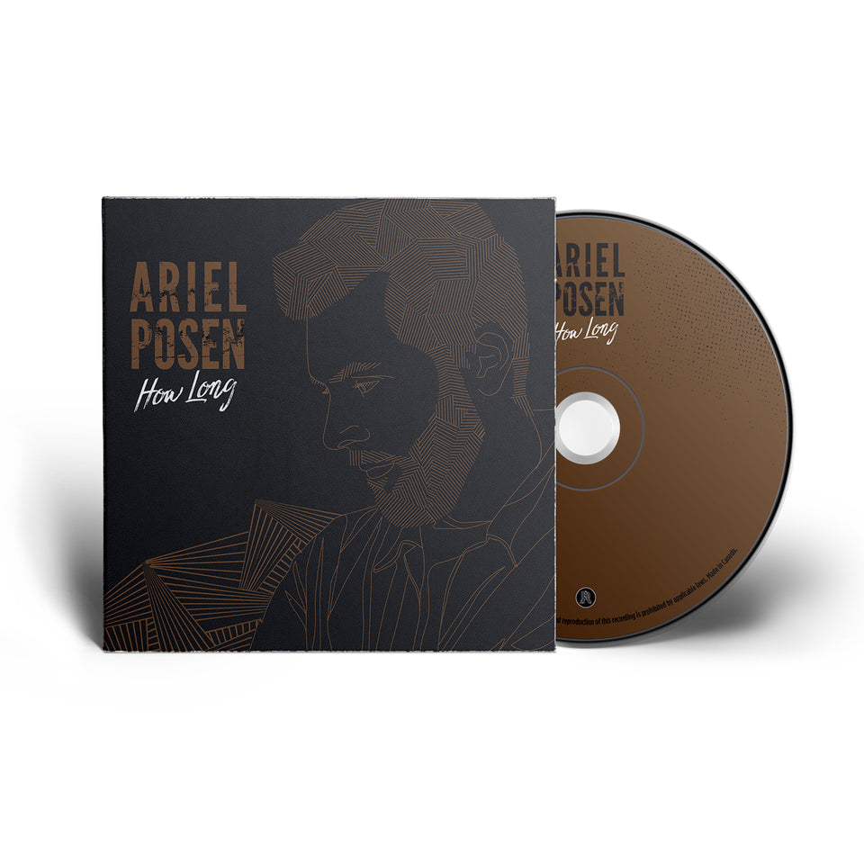 SIGNED - Ariel Posen - How Long - CD