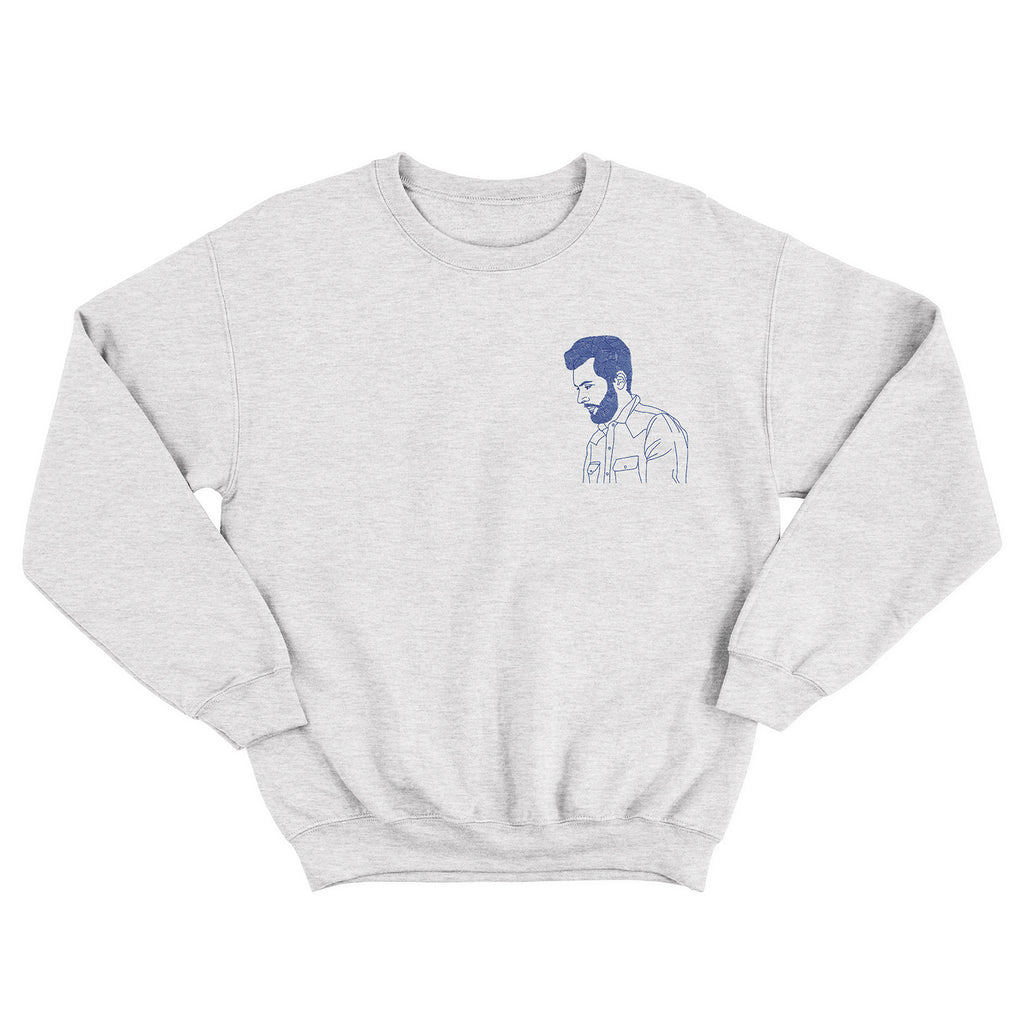 Ariel Posen - The Live Sessions - Light Gray Crew Sweatshirt