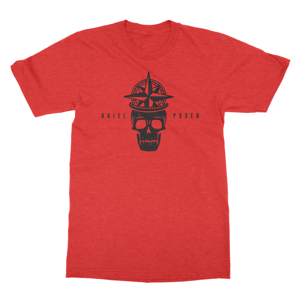 Ariel Posen - Skull - Heather Red Tee
