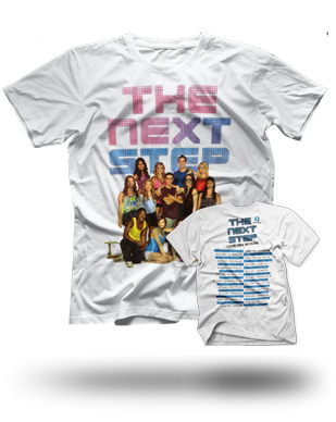 The Next Step 2015 Tour T-Shirt: White