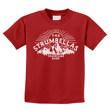 The Strumbellas Travelling Band Youth Tee - Red
