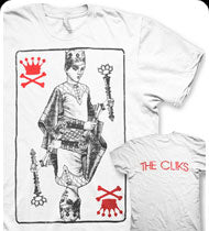 THE CLIKS -King Card- T-Shirt - White