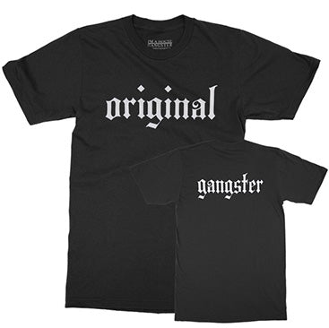 IAHG -Original Gangster- Black T-Shirt