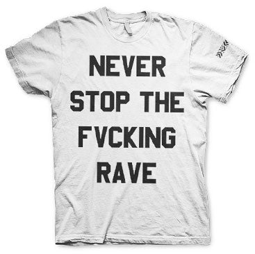 DVBBS -Never Stop- White T-Shirt