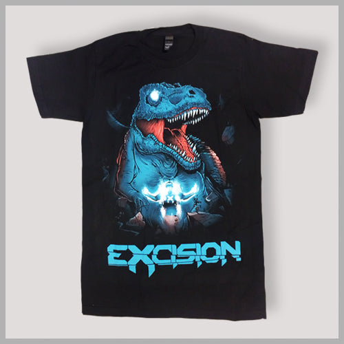 EXCISION -Summon Rex- Black T-Shirt