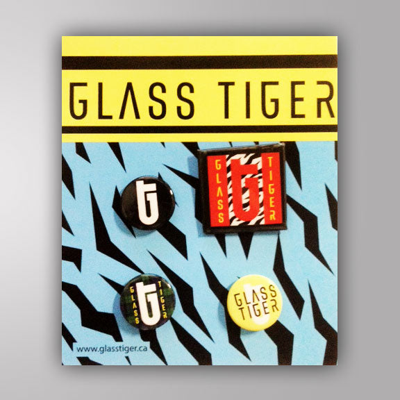 GLASS TIGER -Pin Pack-