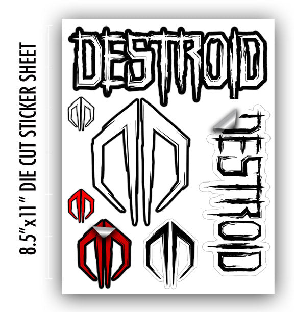 EXCISION -Destroid Sticker Sheet-