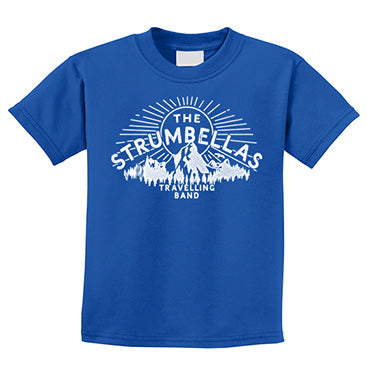 The Strumbellas Travelling Youth Tee - Royal Blue
