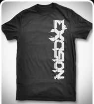 EXCISION Up & Down T-Shirt - Black