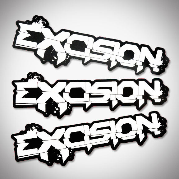 EXCISION Sticker 3-Pak - SMALL