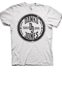 DANKO JONES -DJ Toronto- White Tee