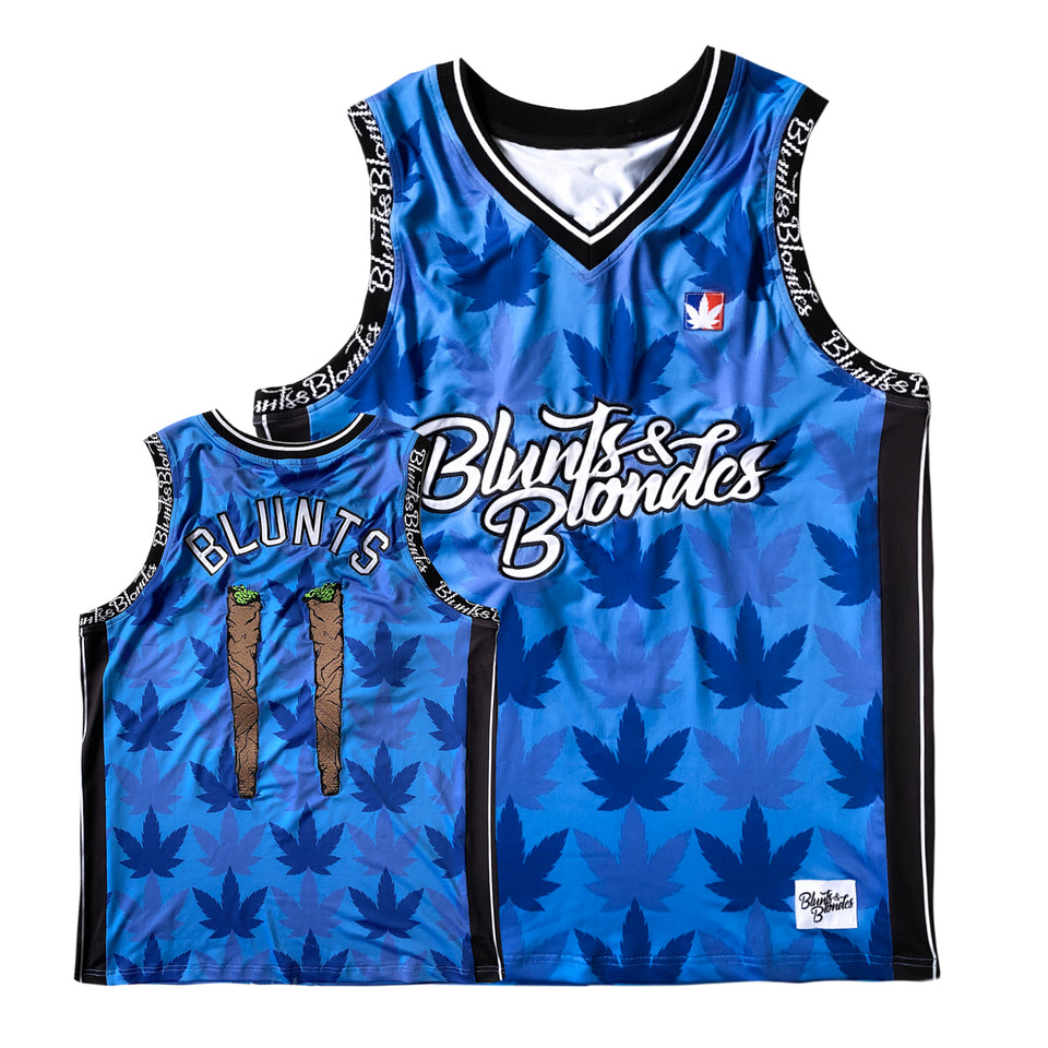 PRE ORDER - Blunts and Blondes - Custom Basketball Jersey