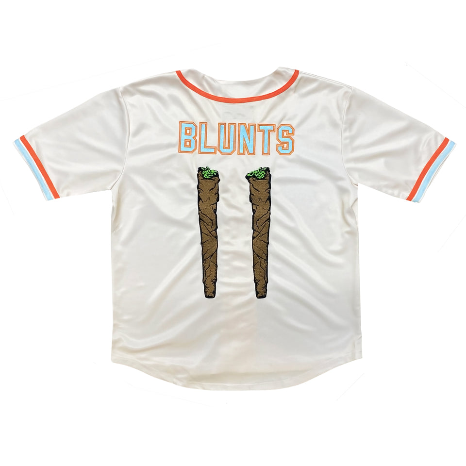 Blunts and Blondes - Custom Baseball Jersey