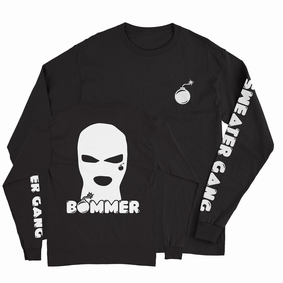 Bommer - Sweater Gang - Black Unisex Long Sleeve