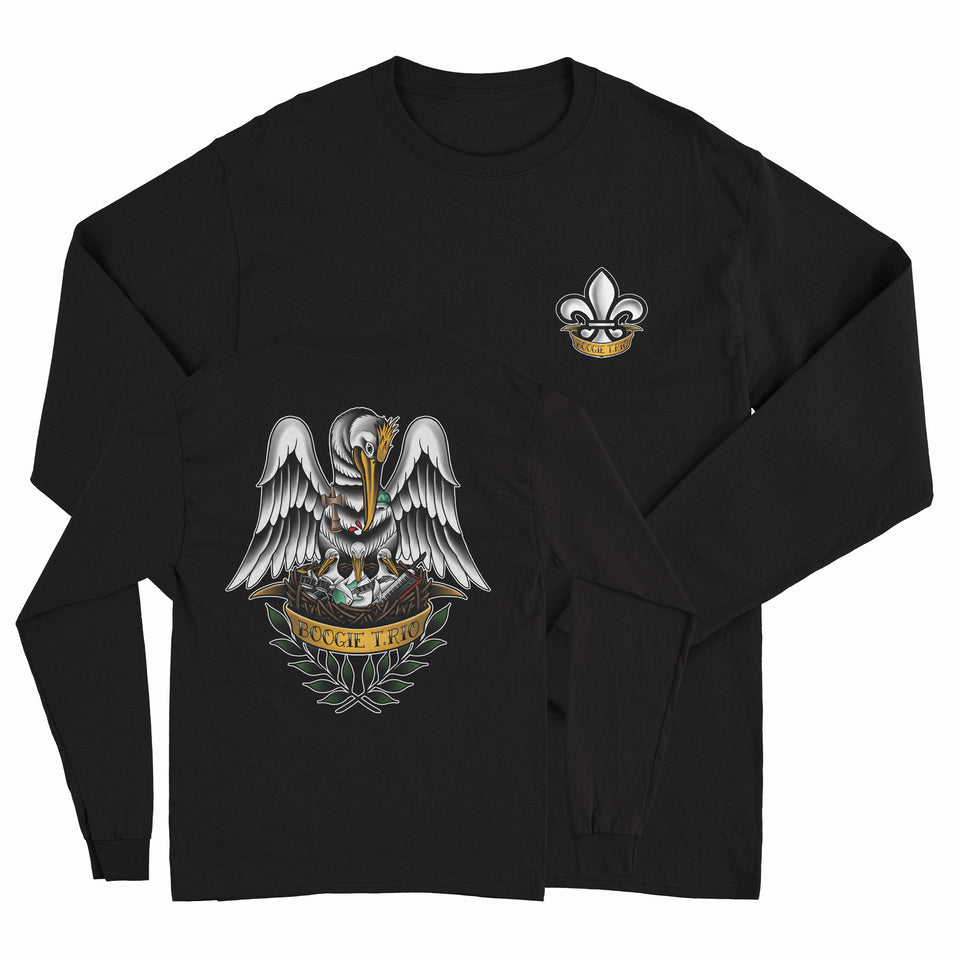 BOOGIE T.RIO - Birds Long Sleeve Shirt