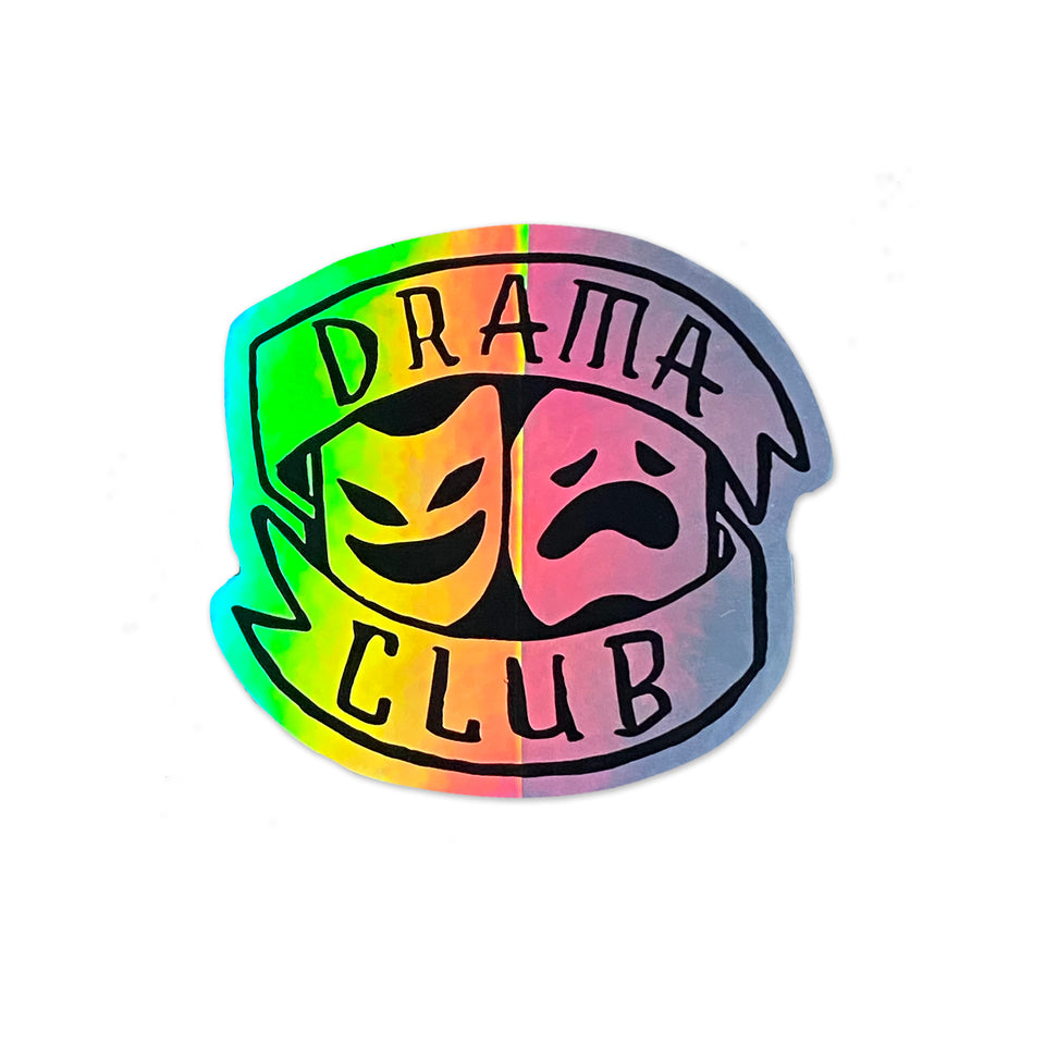 Boogie T - Drama Club - Prismatic Sticker