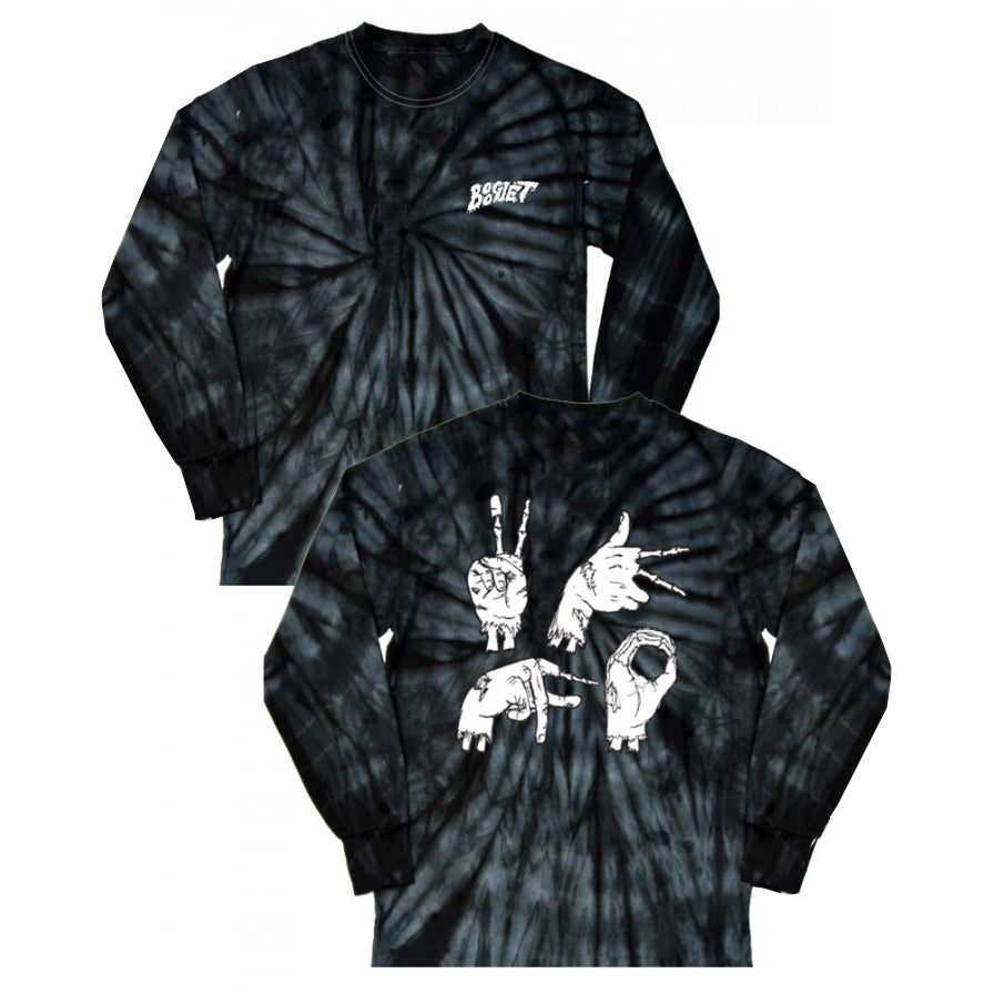 Boogie T - 2KFO Tie Dye Long Sleeve Shirt