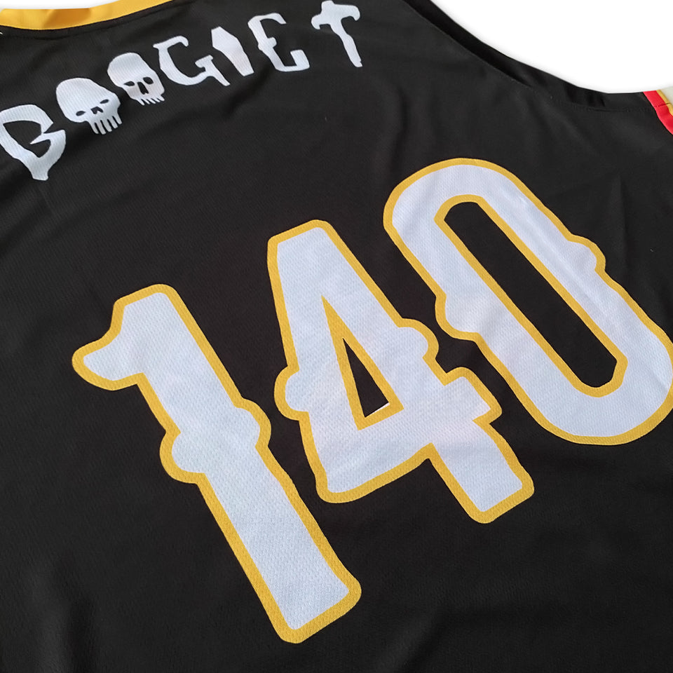 Boogie T - Custom Basketball Jersey
