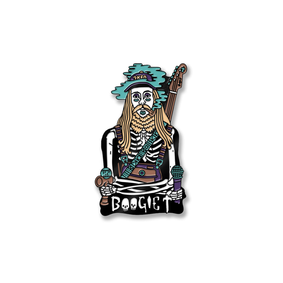 Boogie T - Skeleton - Pin