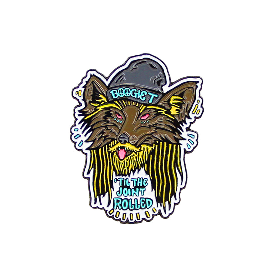 Boogie T - Wolf - Pin