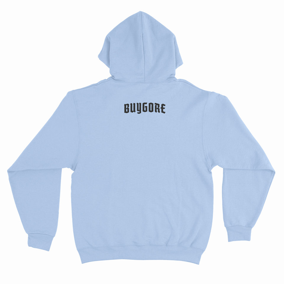 Buygore - Princess - Light Blue Pullover Hoodie