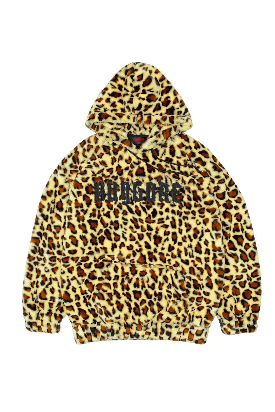 Buygore - Fuzzy - Leopard Hoodie