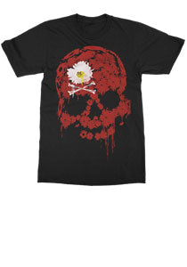 The Dead Daisies - Skull Daisy - Black Tee