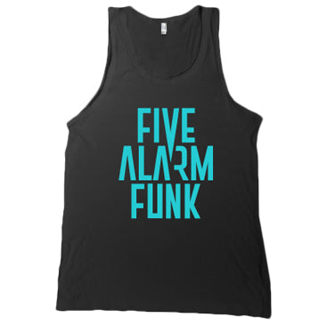 Five Alarm Funk - Logo - Black Unisex Tank Top
