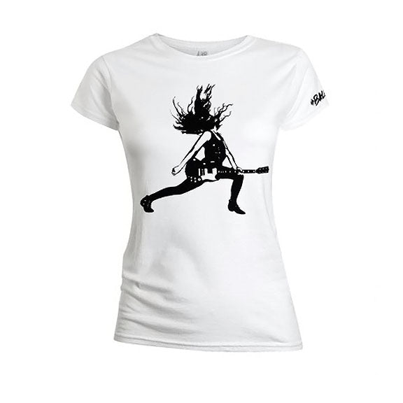 The Balconies Lunge Girls White T-Shirt