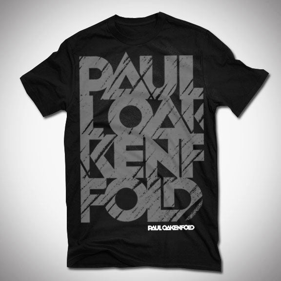 PAUL OAKENFOLD Brushed T-Shirt - Black