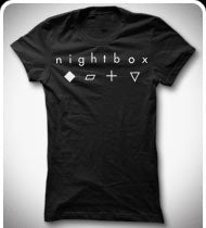 NIGHTBOX Girls Logo T-Shirt - Black