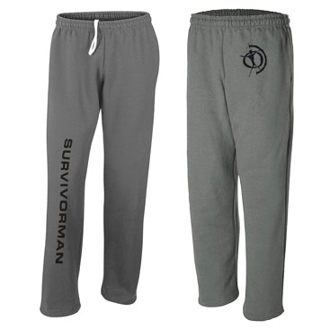 Survivorman Jogging Pants - Charcoal