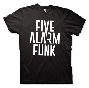 Five Alarm Funk - Logo - Black Unisex T-Shirt