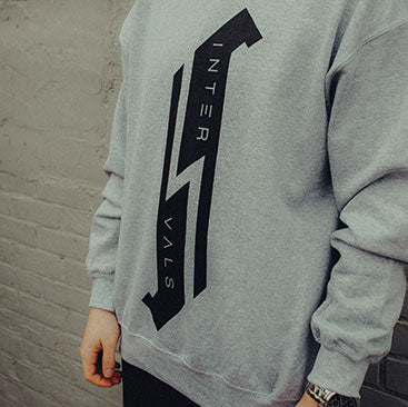 Intervals - Logo Crew Sweater - Athletic Gray