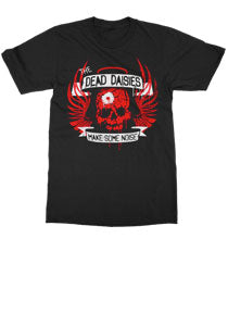 The Dead Daisies - Make Some Noise - Black Tee