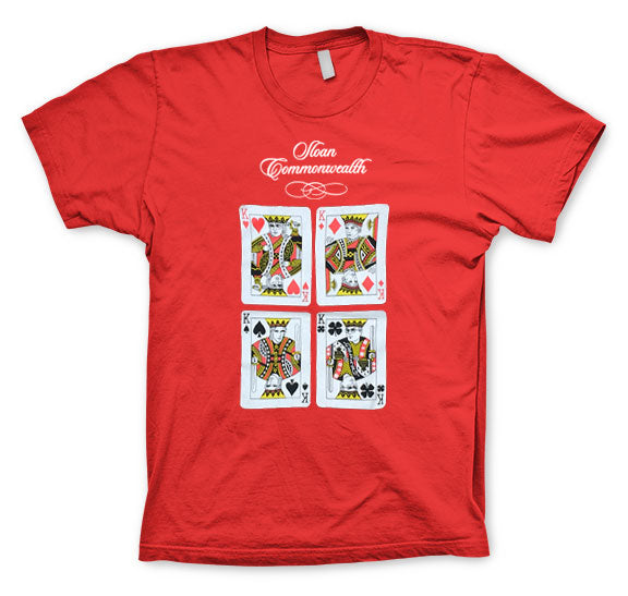 SLOAN -Commonwealth Card- Red T-Shirt