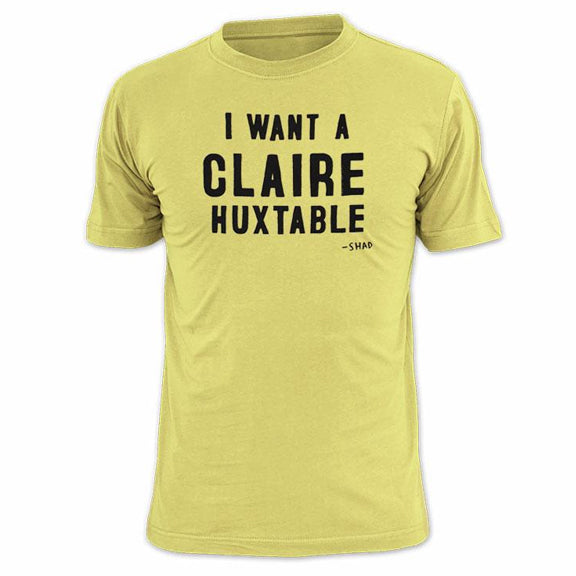 SHAD Claire Huxtable Guys Shirt - Yellow