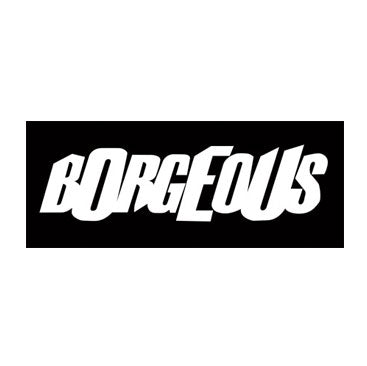 BORGEOUS -Logo- Vinyl Sticker