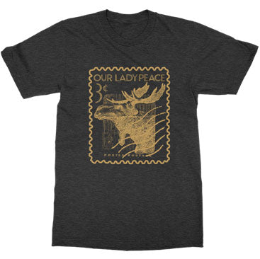 Our Lady Peace - Stamp Unisex Tee - Heather Charcoal